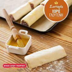 Tι καλύτερο από το να μασουλάτε τα δικά σας ψητά ρολάκια (bake rolls) χωρίς γλουτένη, μπροστά από την αγαπημένη σας ταινία στην τηλεόραση; Δοκιμάστε να τα φτιάξετε εύκολα και γρήγορα με αλεύρι για όλες τις χρήσεις χωρίς γλουτένη των Μύλων Αγίου Γεωργίου! #myloiagiougeorgiou #recipes #glutenfee #bakerolls #cooking Gluten Free, Cheese, Food, Glutenfree, Essen, Sin Gluten, Meals, Yemek, Eten