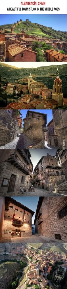 Just a fascinating town in Spain