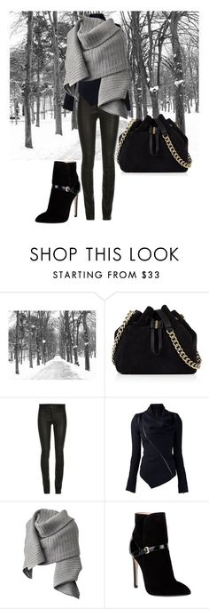 """""""Winter in Paris 2016"""" by summerocha ❤ liked on Polyvore featuring Pottery Barn, Karen Millen, ElleSD, Acne Studios and Emilio Pucci"""