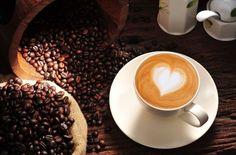 coffee heart mood cappuccino