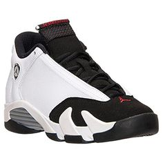 on sale 01666 615bc Nike Air Jordan 14 Retro Kids Black White 654963-102 - http