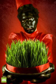 ♥ Haji Firuz (One of the symbols of Nowruz in Iran)