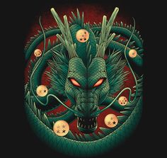 Shenron - Visit now for 3D Dragon Ball Z compression shirts now on sale! #dragonball #dbz #dragonballsuper