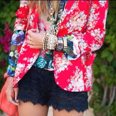 Love all the colors and prints put well together!
