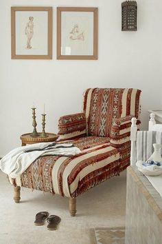 orientalische lampe fintet platz in jedem haus sitzecke zum lesen spezieller sessel flip flops wanddeko kerzen