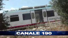 CORATO   Scontro tra due treni della Bari Nord nel territorio di Corato