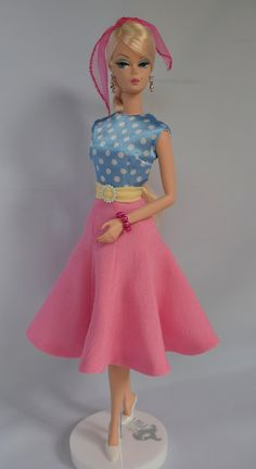 In The Pink: New Retro Silkstone fashion in my Etsy Shop