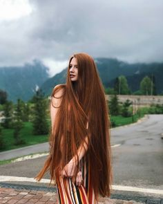 The Best Beauty Tips For People Of All Ages. A good beauty routine should be relaxing and pleasant. Now you can try some new beauty techniques with co Long Red Hair, Very Long Hair, Beautiful Long Hair, Gorgeous Hair, Pretty Hairstyles, Girl Hairstyles, Wedding Hairstyles, Remy Hair Extensions, Shiny Hair
