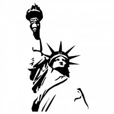Sticker Statue de la liberté 1More Pins Like This One At FOSTERGINGER @ PINTEREST No Pin Limitsでこのようなピンがいっぱいになるピンの限界