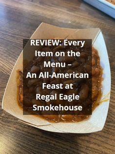 Disney World Food: REVIEW of Every Item on the Menu at the All-American Feast at Regal Eagle Smokehouse in Epcot #DisneyWorldRestaurants #DisneyWorldFood #DisneyWorldTips Disney World Deals, Disney World Food, Disney World Restaurants, Disney World Planning, Walt Disney World Vacations, Disney World Tips And Tricks, Disney Tips, Disney On A Budget, Disney World Characters