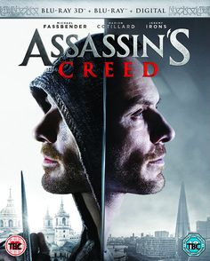 Assassins Creed 3D Blu-Ray.: Oscar nominee Michael Fassbender stars in this big-screen action-adventure, based on the wildly popular gaming…
