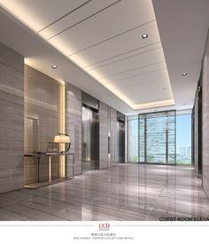 New Elevator Lobby Seating Interior Design 62 Ideas Hotel Lobby Design, Elevator Lobby Design, Office Building Lobby, Office Lobby, Hall Hotel, Hotel Corridor, Lobby Interior, Office Interior Design, Ceiling Design Living Room
