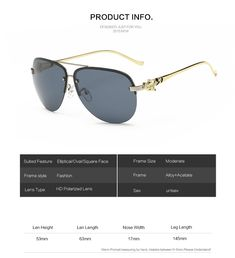 80febf76e1b JARA Fox Metal Leg Polarized Sunglasses Coating Mirror Driving Pilot Women  Sun Glasses Brand Designer Oculos De Sol 2378