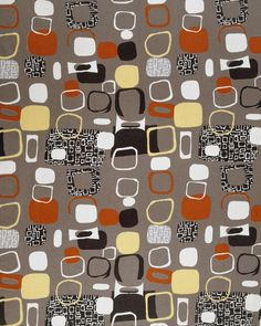 #abstract #midC 1952 fabric design by Jacqueline Groag (V & A Collection) | Surface View