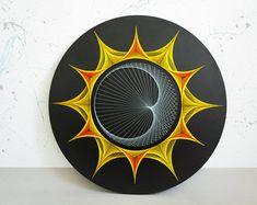 KALEIDOSKOP String Kunst Heilige Geometrie von MagicLineStore