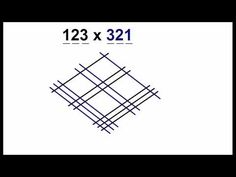 Math Trick Multiply Using Lines - YouTube