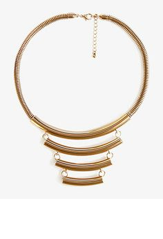 Crescent Snake Chain Necklace | FOREVER21 - 1038263870