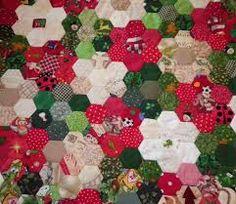 Image result for hexagon christmas
