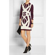 Dagmar Johanna leopard-print stretch-knit dress