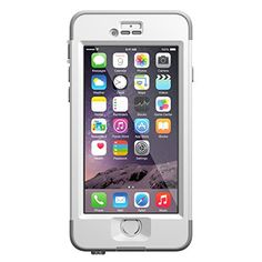"""LifeProof NUUD iPhone 6 ONLY Waterproof Case (4.7"""" Version) - Retail Packaging -  AVALANCHE (BRIGHT WHITE/COOL GREY) LifeProof http://www.amazon.com/dp/B00NCJ4E9Y/ref=cm_sw_r_pi_dp_of8Owb0S3YXTG"""