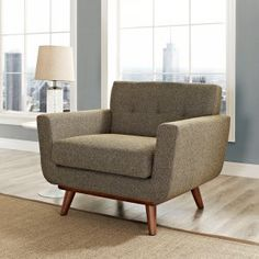 Modway Engage Wood Armchair Image 7