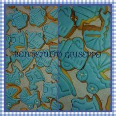 Biscottini con pasta di zucchero Nascita
