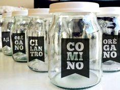 Resultado de imagen para manualidades con frascos de yogurt de vidrio