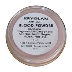 Kryolan Blood Powder .3oz