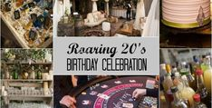 Adult Birthday themes-- Roaring 20's; Gold theme and many more.  Celebrations At Home