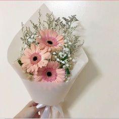 Ideas For Flowers Bucket Gift Gerbera Daisy Bouquet, Floral Bouquets, Large Flower Arrangements, Flying Flowers, Flower Aesthetic, Bridesmaid Flowers, Dried Flowers, Beautiful Flowers, Marie