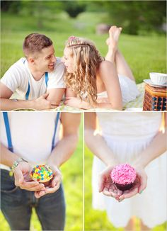also can do an engagement shoot ring shot afterwards. and of course, eat the cupcakes! Engagement Props, Picnic Engagement, Engagement Ring Photos, Wedding Engagement, Love Couple Photo, Couple Style, Couple Photos, Couple Photography, Wedding Photography