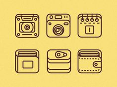 Simple iOS Icons  by Nick Kumbari