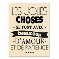 Amour et patience ...je t'attends patiemment amour