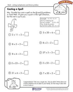 math worksheet : divide and conquer  free math worksheet for kids  *♣* smart  : Beginner Math Worksheets