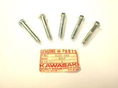 Kawasaki F3 Bushwhacker Sprocket Bolt Pack Of 5 92001-083 Great 4 Resale #Kawasaki