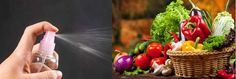 Φυσικό σπρέι για να Αφαιρέσετε τα Φυτοφάρμακα από Φρούτα και Λαχανικά  #χρήσιμα