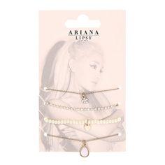 Ariana Grande for Lipsy Charm Bracelets Multi Pack