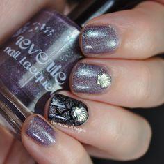 Nightfall Mermaid Nails