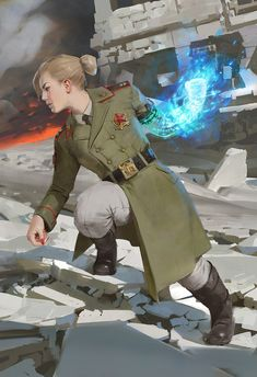 A place to share and appreciate fantasy and sci-fi art featuring reasonably portrayed women. Character Concept, Character Art, Concept Art, Arte Cyberpunk, Sci Fi Characters, Shadowrun, Cthulhu, Sci Fi Art, Dieselpunk