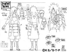 "Madara Uchiha - Concept ART - STUDIO PIERROTEpisode 332""The Will of Stone"" (Naruto Shippuden) All rights reserved by Masashi Kishimoto"