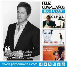 Hoy cumple 55 años el actor y productor inglés #HughGrant