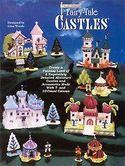 Plastic canvas fairy tale castles pattern book
