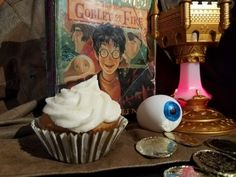 Harry Potter and the Goblet of Fire Discussion and Recipe for Butterbeer Cupcakes | LetterPile