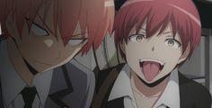 Haha  this scene is so funny Karma & Asano