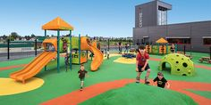 Commercial Playground Equipment - Landscape Structures