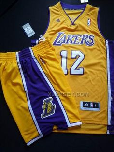 http://www.xjersey.com/lakers-12-howard-yellow-revolution-30-suit.html LAKERS 12 HOWARD YELLOW REVOLUTION 30 SUIT Only $59.00 , Free Shipping!