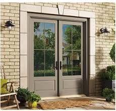 Andersen 200 series hinged patio door | Double French