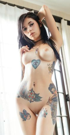 Gorgeous Tattooed chick