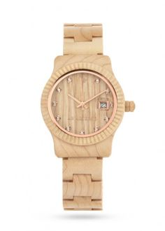 Ab Aeterno. Maple wood watch. $149. This is a more realistic purchase of mine, plus it's sustainably made.