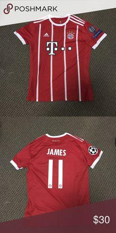 James Rodriguez jersey Bayern Munich 2017 2018 James Rodriguez Bayern Munich  home kit eb35d2fdd